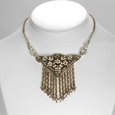 <strong>Sweet Romance</strong> Gatsby Deco Fringe Necklace