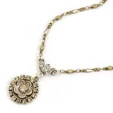 <strong>Sweet Romance</strong> Posie Crystal Necklace