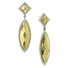 Marquise Cut Drop Earrings