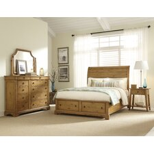 Pleasant Grove Storage Sleigh Bedroom Collection