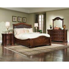 Heritage Court Platform Bedroom Collection