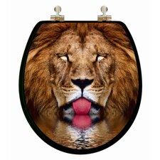 3D Vario Scenario Series Lion, Leopard, Tiger Round Toilet Seat