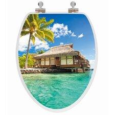3D Series Island Elongated Toilet Seat