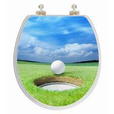 3D Series Golf Round Toilet Seat