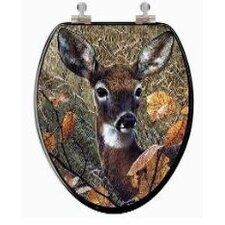 3D Series Deer Elongated Toilet Seat