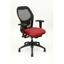 Mid-Back Aria Mesh Executive Chair with Arms