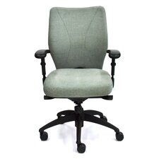 <strong>Lifeform</strong> High-Back Staal Executive Chair with Arms