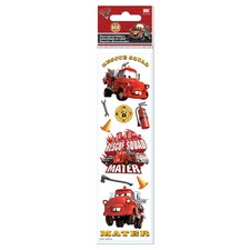 Disney 3D Slim Stix Cars Rescue Sticker