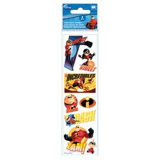 Disney 3D Slim Stix Incredibles Sticker