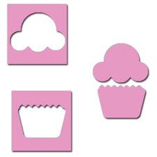 Cupcake Mini Punch Set
