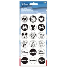 Clear Mickey Stamp Set
