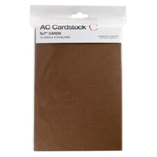 "5"" x 7"" Cardstock Cards and Envelopes (Set of 12)"
