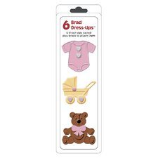 Dressup Baby Girl Brad (Set of 6)