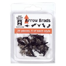 Arrow Mix Brad (Set of 25)
