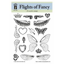 Flights of Fancy Clear Stamp Set