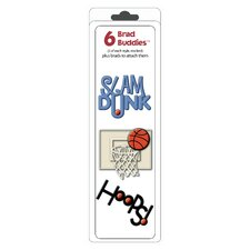 Brad Buddies Basketball Brad (Set of 6)