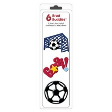 Brad Buddies Soccer Brad (Set of 6)