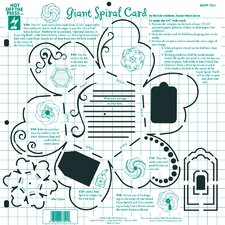 Giant Spiral Card Template