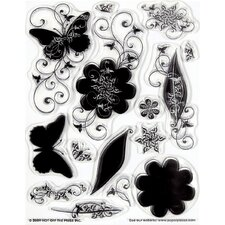 Silhouettes & Shadows Clear Stamp Set