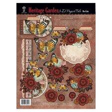 Heritage Garden 3-D Paper Tole Die-Cuts