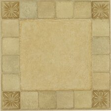 "Nexus 12"" x 12"" Vinyl Tile in Almond"