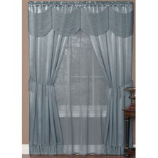 Halley Window in a Bag Drape Panel Pair