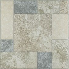 "Nexus 12"" x 12"" Vinyl Tile Marble Blocks"