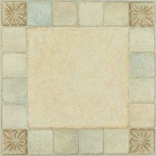 "<strong>Achim Importing Co</strong> Nexus 12"" x 12"" Vinyl Tile in Almond"