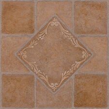 "<strong>Achim Importing Co</strong> Nexus 12"" x 12"" Vinyl Tile in South West Ceramic"