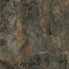 "Nexus 12"" x 12"" Vinyl Tile in Dark Slate Marble"