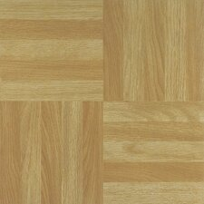 "Nexus 12"" x 12"" Vinyl Tile in Four Finger Square Parquet"