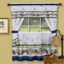 """Fruity Tiles 57"""" Valance and Tier Set"""