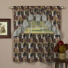 """Patches 57"""" Valance and Tier Set"""