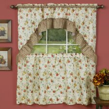 """Classic Country 57"""" Valance and Tier Set"""