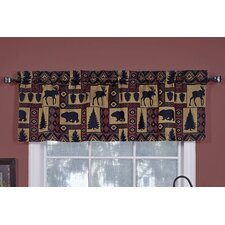 "Lodge Tapestry 54"" Curtain Valance"