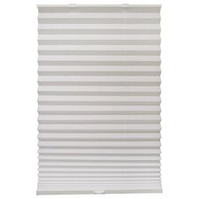 Push and Glide Cordless Pleated Shade