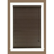 Madera Falsa Faux Wood Pleated Shade
