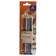 Graphic Drawing Pencils (Set of 6)