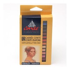 Portrait Crayon Color (Pack of 12)
