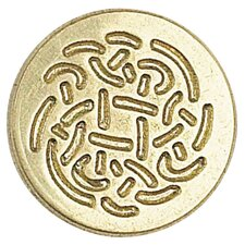Decorative Sealing Celtic Rose Wax Coin