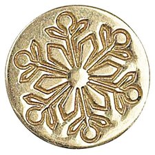 Decorative Sealing Snowflake Wax Coin