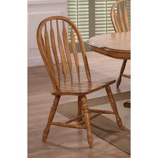 Rustic Oak Side Chair