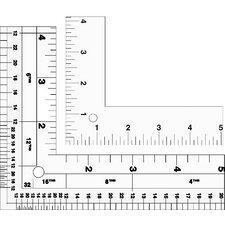 Standard L-Square Aluminum Ruler