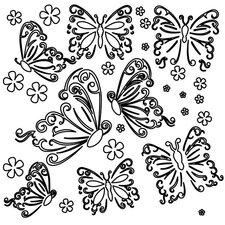 Butterflies Template