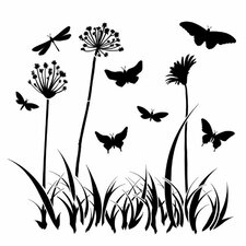 Butterfly Meadow Template