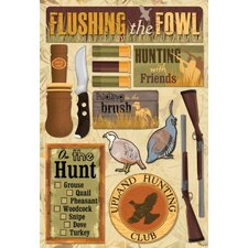 Cardstock Stickers Upland Hunting
