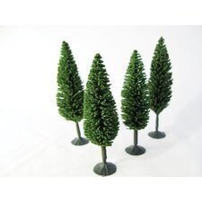 Architectural Model Poplar Tree (Set of 4)