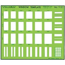 Double-Hung Sash Window Template