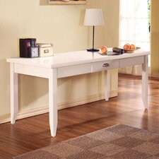 Tribeca Loft White Writing Desk