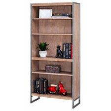 Belmont 5-Shelf Wood Bookcase